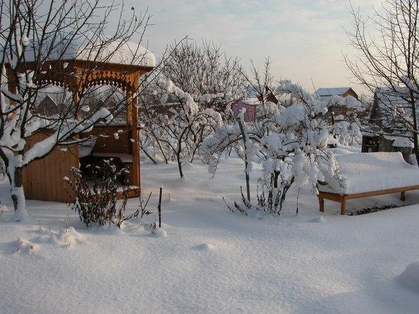 Дача зимой. Дача зимой 7