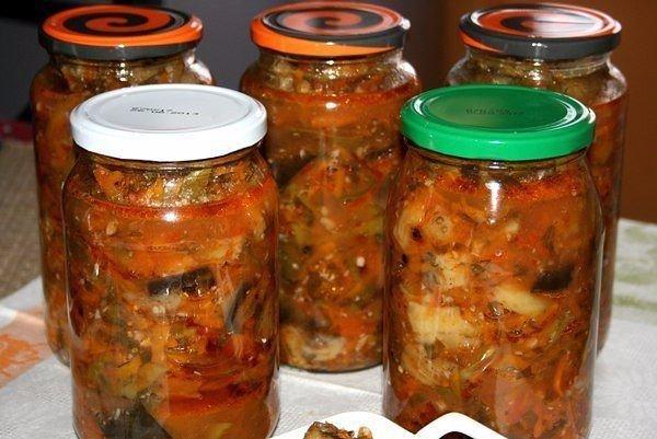 Баклажаны по-кубански с ароматным маринадом