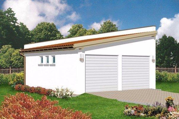 Делаем односкатную крышу гаража. Делаем односкатную крышу 2