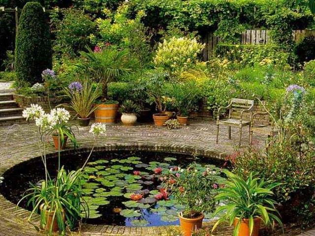 Оживляем дачный участок с помощью пруда и фонтана. 14572.jpeg