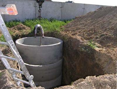 Сливная яма в частном доме
