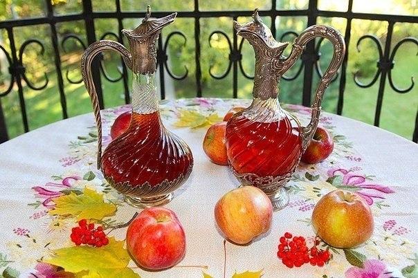 Вкусное домашнее вино из яблок