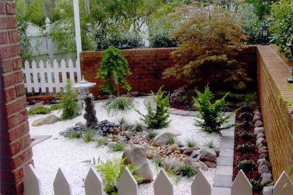 Сад в японском стиле. Сад в японском стиле 6