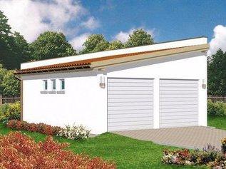 Делаем односкатную крышу гаража