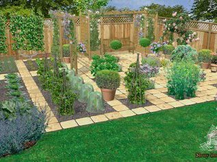 Планировка сада и огорода. Грамотный подход
