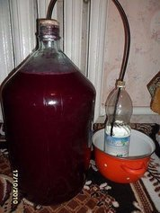 Домашнее вино из... старого никому не нужного варенья!