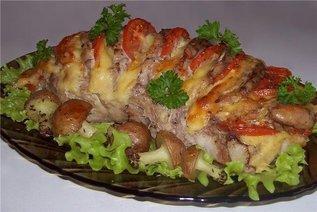 Дачные блюда